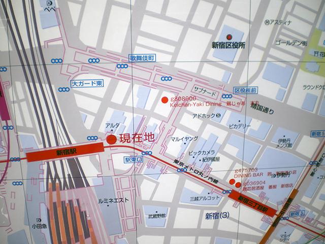 地図に載る地下道
