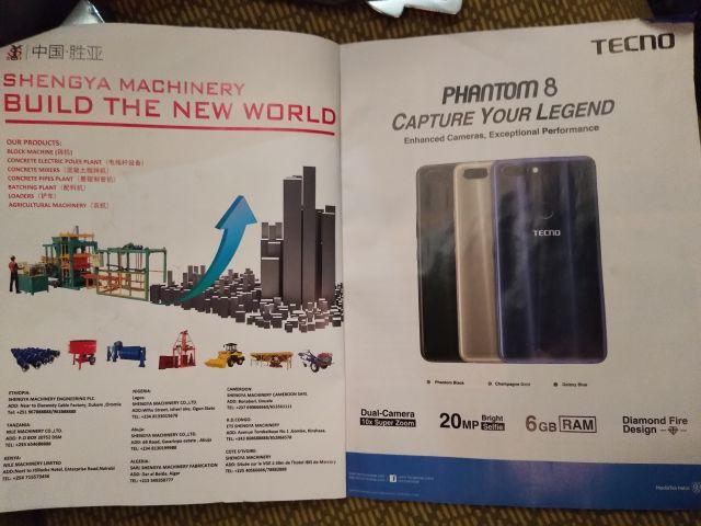 TECNOというブランドの中国のスマートフォンがアフリカでは人気かも。