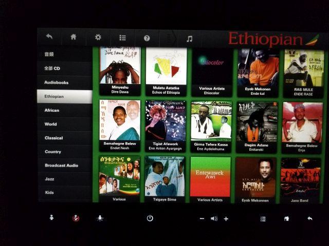 音楽プログラムでは、アフリカ音楽とエチオピア音楽がそれぞれ超充実