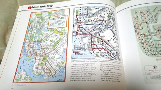 路線図界の鬼っ子、ニューヨークの地下鉄路線図も、最近のものだけではなく、古いものもカバー