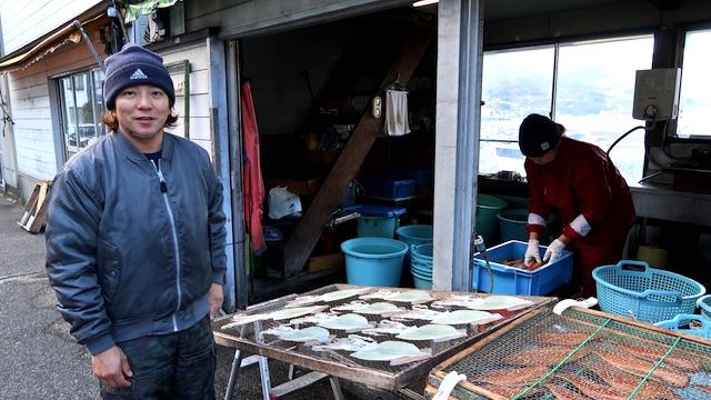 ハイパー干物クリエイター、藤間義孝さん(45歳)