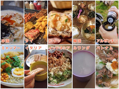 世界8カ国の朝食たち!