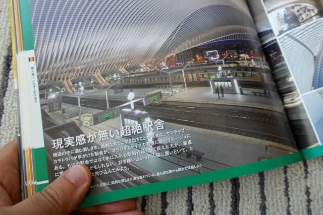 そんな駅の例、リエージュ・ギユマン駅。「ヨーロッパのドボクを見に行こう(八馬智著、自由国民社)」74ページより