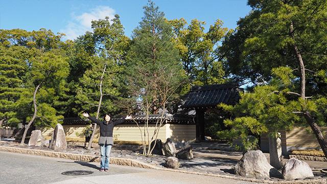 承天寺。770年以上続く祭り「博多祇園山笠(やまかさ)」の発祥の地でもある。