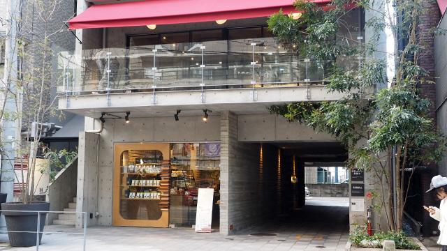 2017年9月に開店したばかりの「オルトカフェ」。