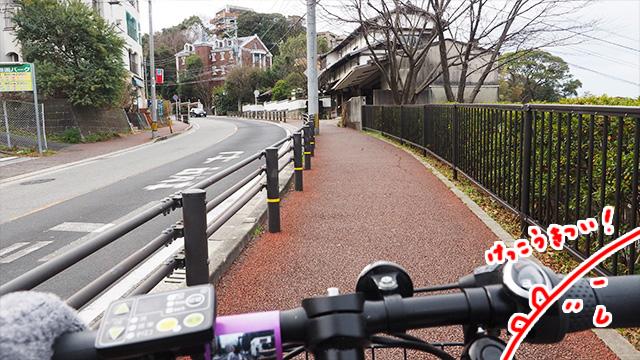 電動自転車でよかった!