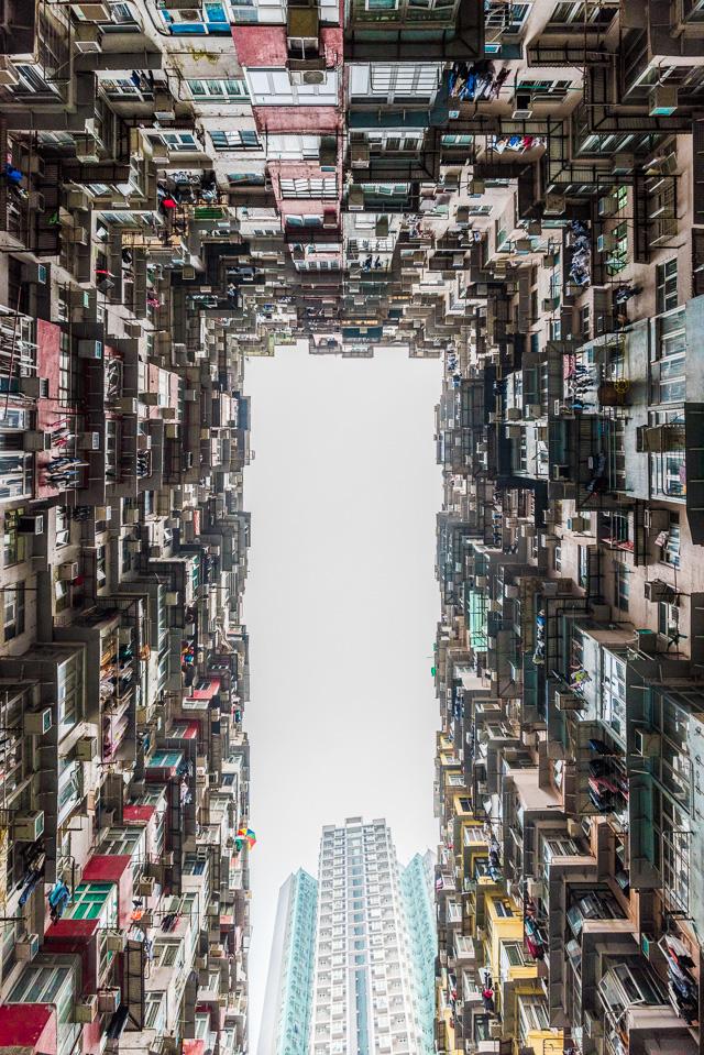 「香港の団地はやっぱりすごい」