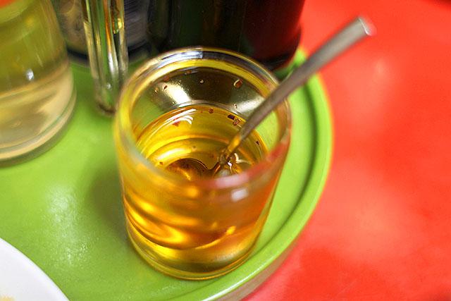 僕の知ってるラー油とは違うラー油。