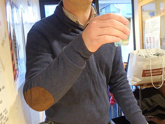 吉田類と乾杯した。えー、いいなー!