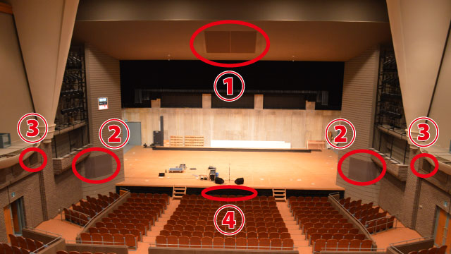 左右に同じものが設置されている箇所は統合して、合計4か所、ここにありました!