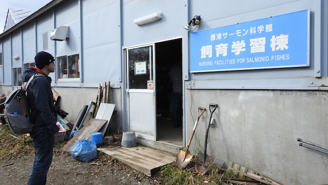 どんどん標津の水族館の施設に詳しくなるおれ。