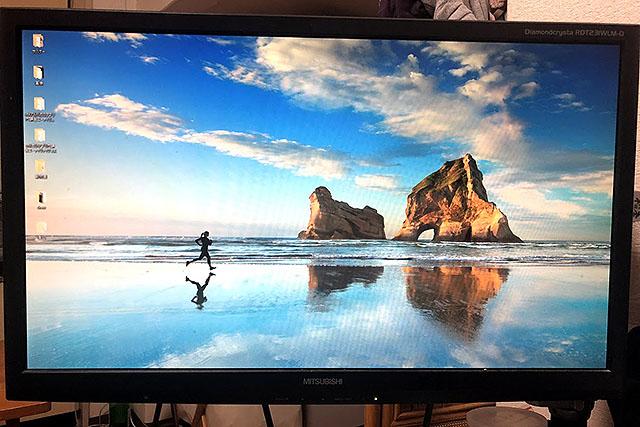 Windows10標準の壁紙で、ずっとこういうの使ってたので海に行けばなんとかなるだろうなと思ってました。