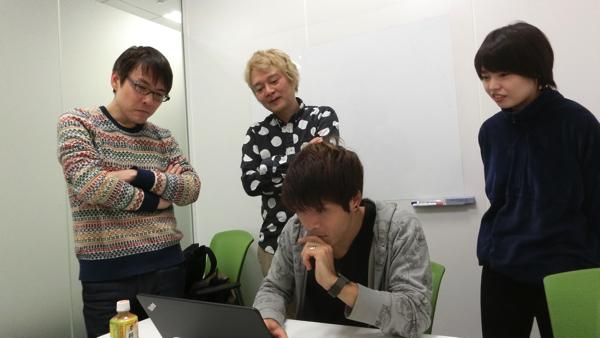 普通にネットを使っている様子を見られている安藤さん。