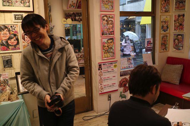 だんだんと同僚の似ている絵が浮かび上がってきて、石川さんも思わず声を出して笑っていた。