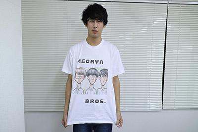 絵は本当に気に入ったのでTシャツにしました。