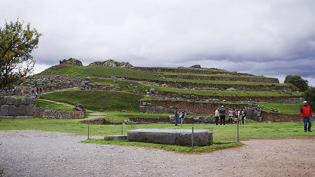 インカ帝国があった街でした!