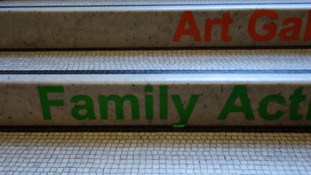 しかしFamilyを緑で書くとファミマとしか思えない(イギリスにファミリーマートはないので偶然の一致)。
