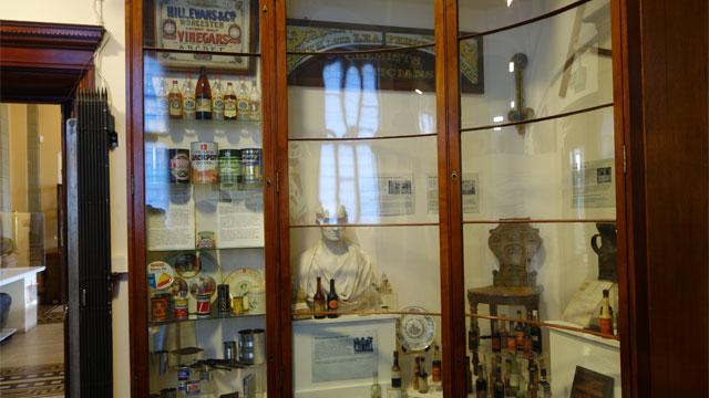 ウスターソースが博物館に飾られている!