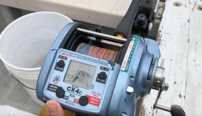 東京湾の深海鮫は水深450~500メートルでよく釣れる…気がする。
