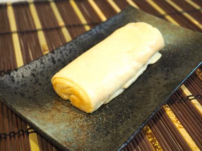 深海鮫卵100%の玉子焼き!白い!