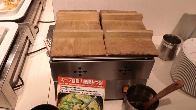 個人的に一番好きなのは味噌もつ鍋。もつがたくさん入っていて味もおいしい。