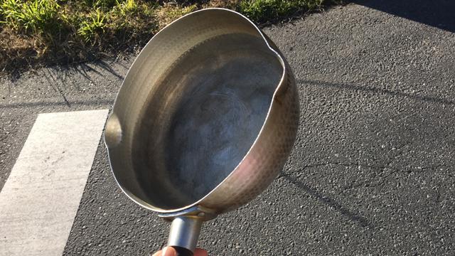 雪平鍋を1つ持って返った。今でも家で大切に使っている