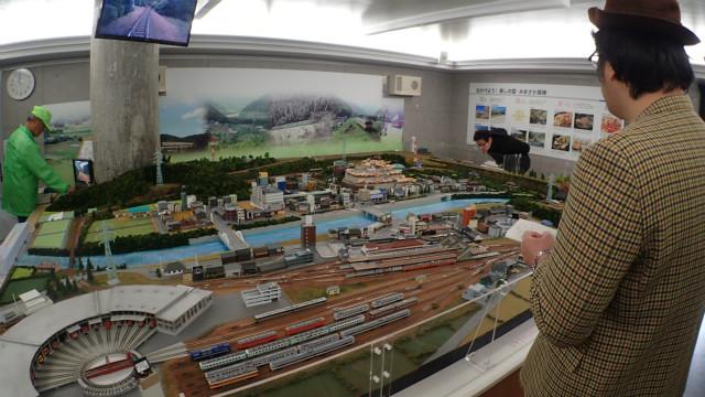 津山駅周辺を完全再現