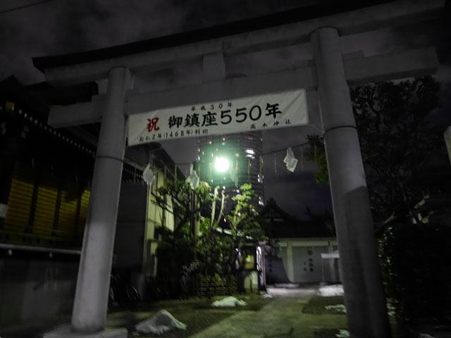 夜の神社ってちょっと怖いよね