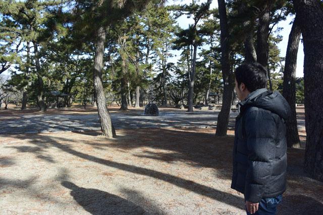 という事で、色々な事態に対応出来る様に公園に来た。