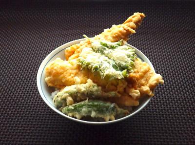 ホラアナゴの天ぷらは自分でもよく作る。簡単で美味い。