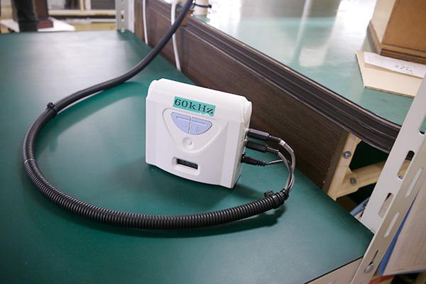 西日本の周波数での動作テストをするためのマシン