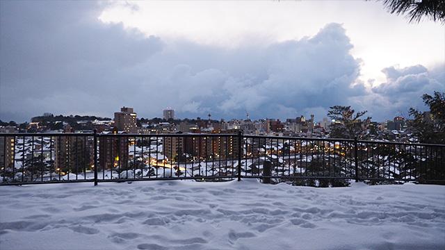 何人かに薦められた金沢市の一望スポット。芥川龍之介も絶賛したのだとか。