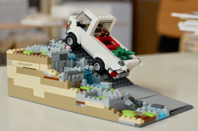レゴでつくる神山町の風景