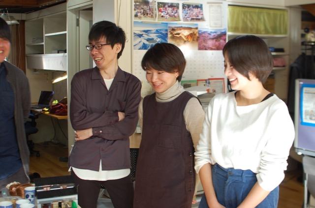 左から平野さん、稲田さん、加藤さん