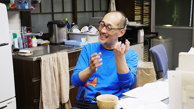 ということで、藤田和日郎先生を訪ねました!