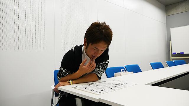 萩原さんに読んでいただきます