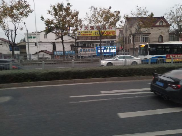 庶民的な家へと変わっていき上海らしさがなくなっていく。