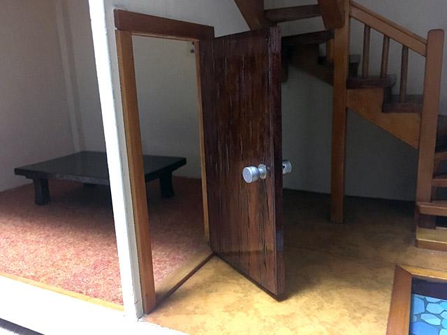すべての扉は開け閉めできる