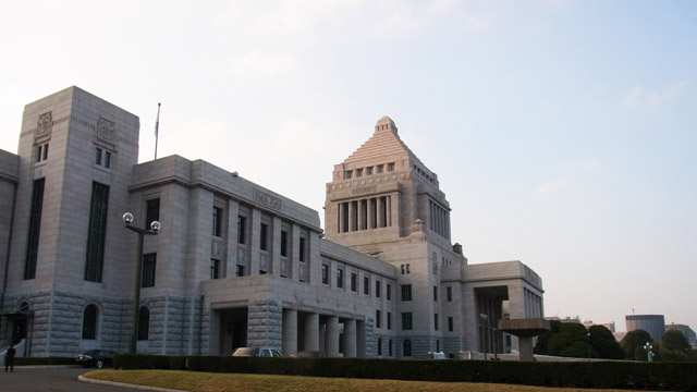 日本一高かった建物、国会議事堂