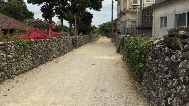 竹富島の石垣