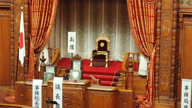 天皇陛下の御席