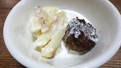 スウェーデンの料理にコソボの料理を突っ込んでみたら、これはこれで美味しかったです。