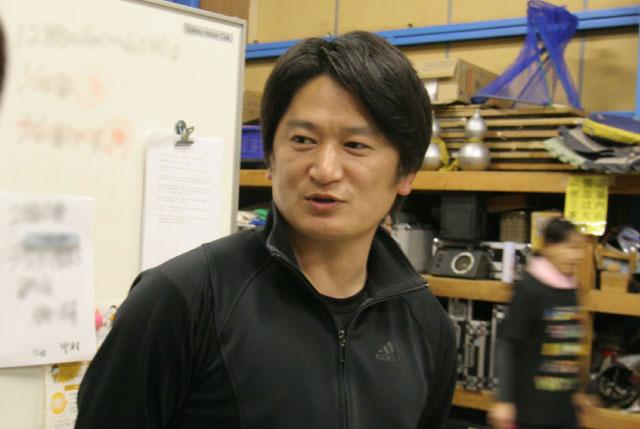 「ゴルフの石川 遼くんと漢字違いの石川 亮なんです」と紹介してくれた石川さん。ゴルフがうまいかどうか聞くのを忘れたので、今度会ったら聞きたい