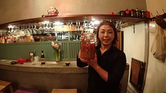 こちらがタイの唐辛子の酢漬けです!