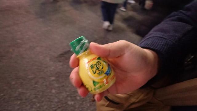 レモン汁。