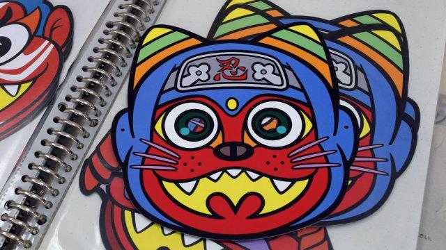 2017年「にゃんじゃ鬼」もクールジャパンを意識。「ニンジャ、ニンジャ……ニャンジャ!」ということで、忍者と猫が融合。