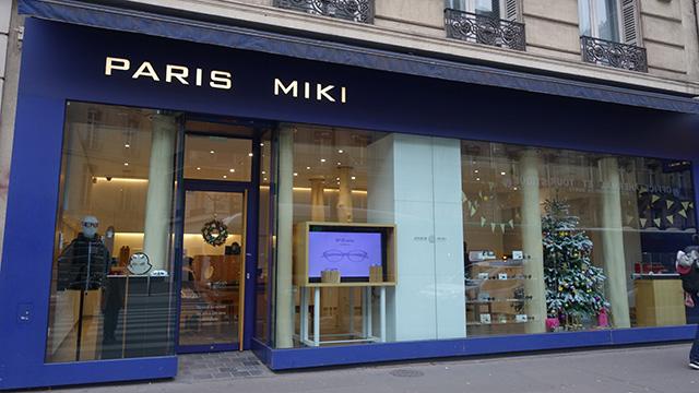 新宿のパリミキと同じファザードがパリにある!パリに店を出すという男気あふれる展開もかっこいい。