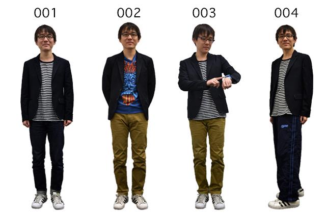 次は石川。ジャケットでカジュアルをねじ伏せるスタイル