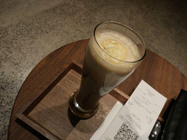 コーヒーフロートを注文しました。