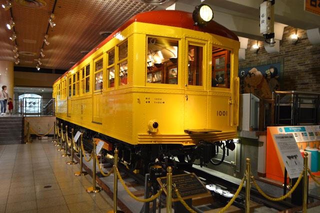 日本最初の地下鉄車両1001号車は2017年9月に国の重要文化財に指定された。重要文化財と聞くだけでありがたみが100倍くらい増す。